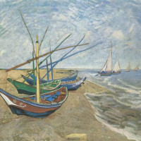 Fishing Boats On The Beach At Saintes Maries Facts