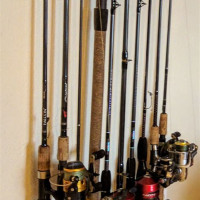 Fishing Rod Storage S